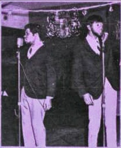 Them Two featuring  Larry Greene (left) and Larry Mobley (right)