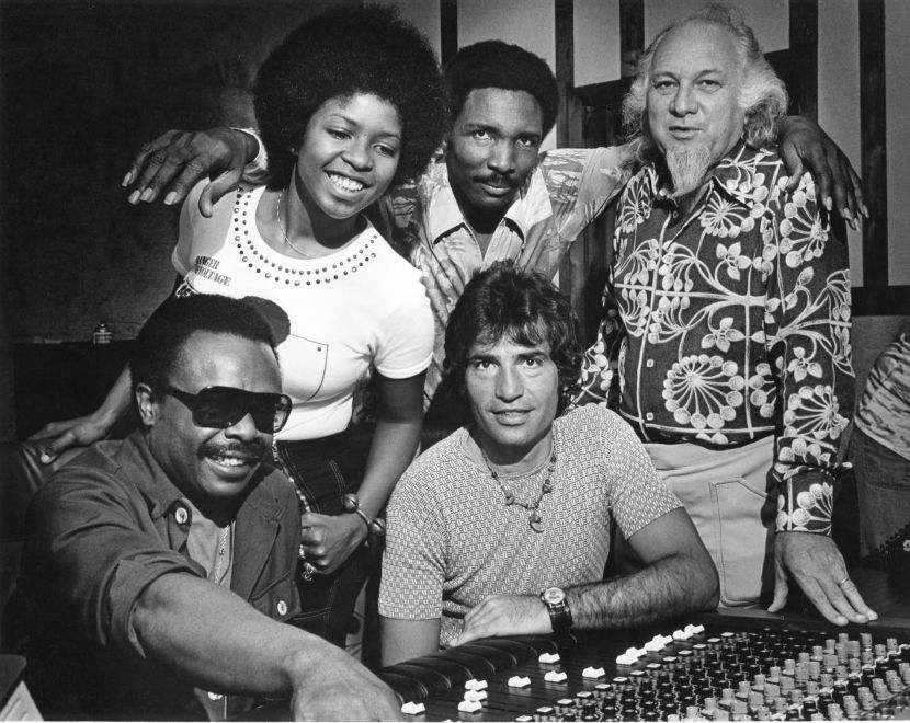 Left to Right: Willie Clarke, Betty Wright, Clarence Reid, Steve Alaimo, Henry Stone